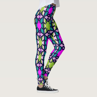 Fashion Leggings-Women-Turquoise/Green/Navy/Purple Leggings