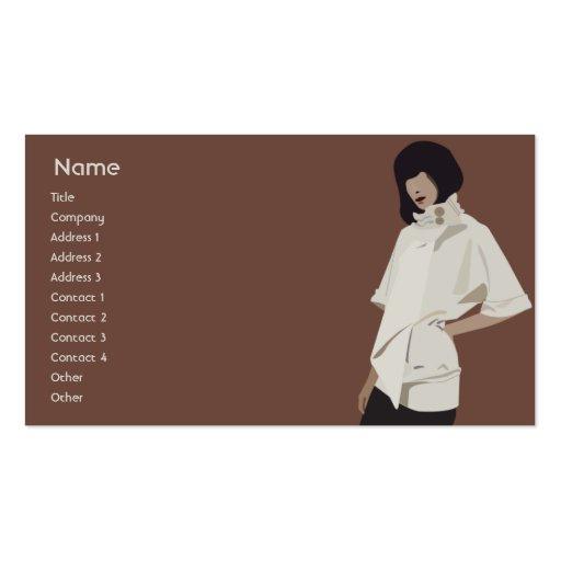 Fashion Merchandiser - Business Business Card Templates