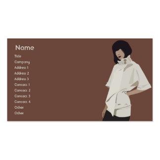 Fashion Merchandiser - Business Pack Of Standard Business Cards