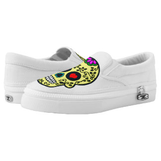 fashion mexican skull shoes