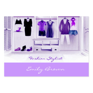 Fashion Mode Stylist Business Card