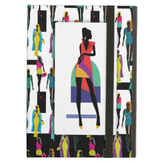 Fashion modern stylish trendy illustration pattern iPad air case
