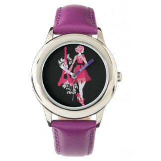 Fashion modern stylish trendy illustration wristwatch