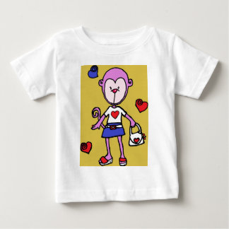 Fashion Monkey.jpg Baby T-Shirt