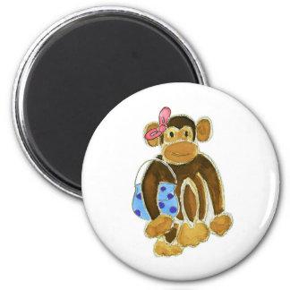 Fashion Monkey Fridge Magnets