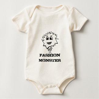 FASHION MONSTER BABY BODYSUIT