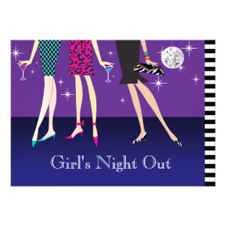 Fashion Party Girls Night Out Announcement