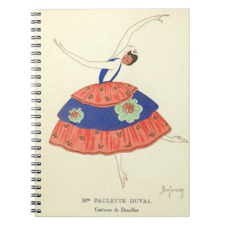 Fashion Plate 1920s Notebook
