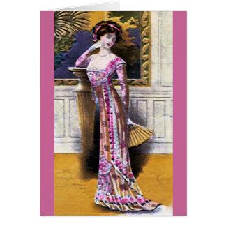 Fashion Plate ~ Card