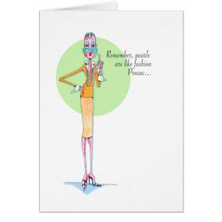 Fashion Prozac card