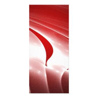 Fashion red custom rack cards