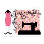 Fashion / Seamstress Card - SRF Business Card Template