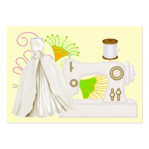 Fashion / Seamstress Card - SRF Business Card Templates