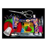 Fashion - Seamstress Card / Tag - SRF Business Cards