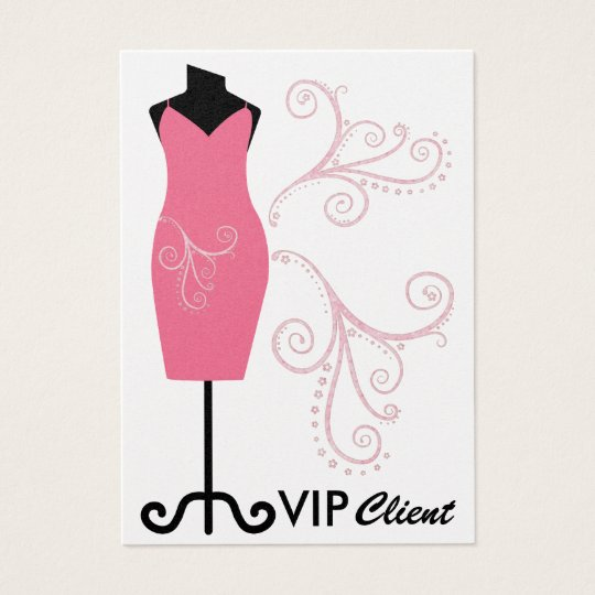 Fashion / Seamstress/ VIP Card - SRF