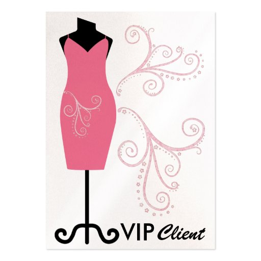 Fashion / Seamstress/ VIP Card - SRF Pack Of Chubby Business Cards