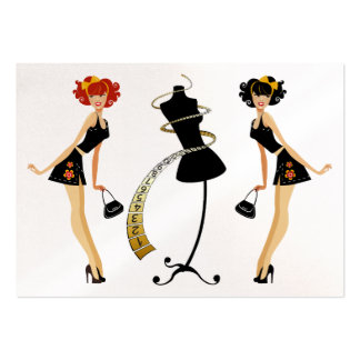 Fashion / Seamstress / Weight Management Pack Of Chubby Business Cards
