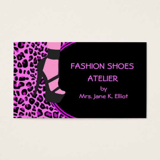 Fashion Shoes Business Card