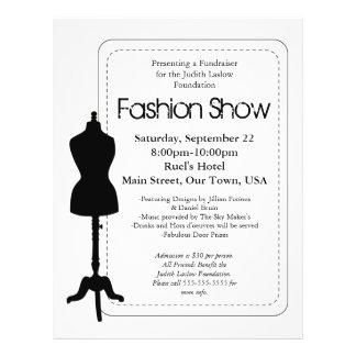 Fashion Show 21.5 Cm X 28 Cm Flyer