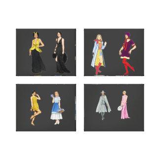 Fashion Show Wrapped Canvas Canvas Prints