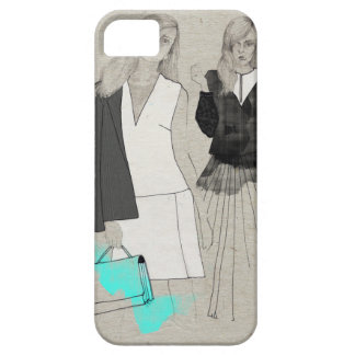 Fashion sketch iPhone 5 case