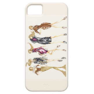 Fashion sketch. iPhone 5 cover