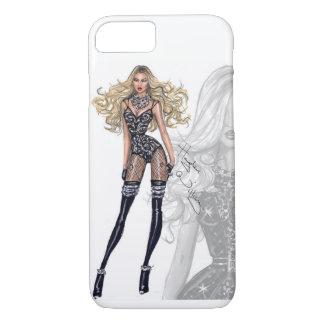 Fashion sketch. iPhone 7 case