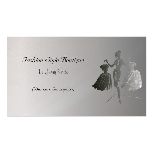 Fashion Style Boutique Business Card Templates