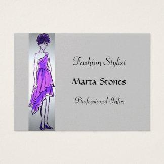 Fashion Stylist Chubby Card