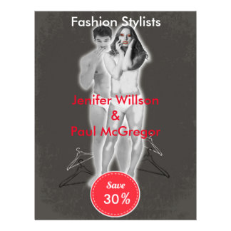 Fashion Stylist Discount Offer Flyer