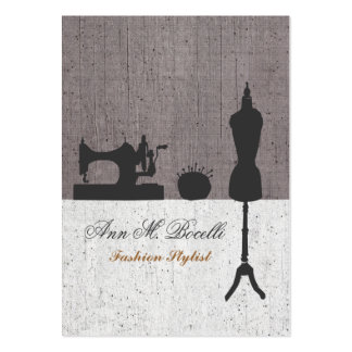 Fashion Stylist Mannequin Couture Business Card