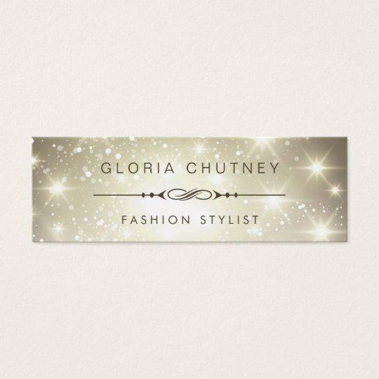 Fashion Stylist - Modern Sparkling Bokeh Glitter Mini