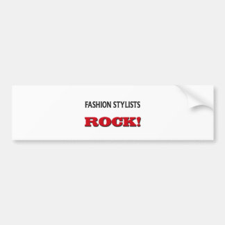 Fashion Stylists Rock Bumper Stickers