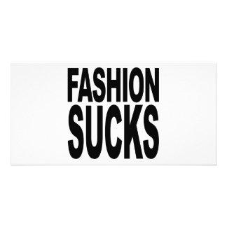 Fashion Sucks Picture Card