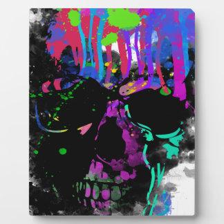 Fashion Summer Skull Skeleton Dead Man Reborn Plaque