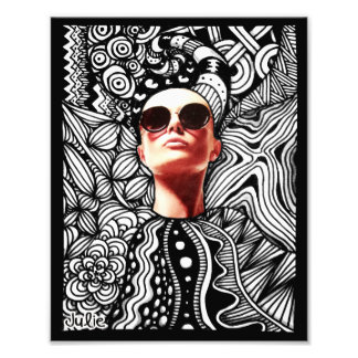 Fashion Tangle Photo Print