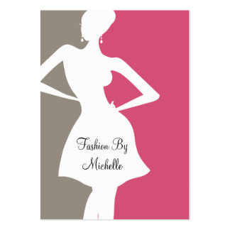 Fashion Theme Pack Of Chubby Business Cards