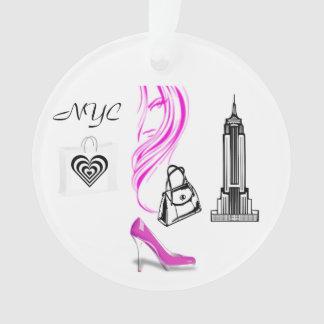 Fashion Theme New York City Ornament