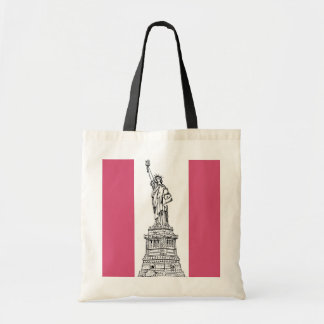 Fashion Themed Statue of Liberty Tote Bag