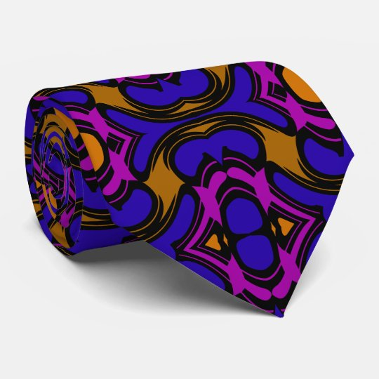 Fashion Tie for Men =Pattern-Gold/Blue/Pink/Black