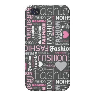 Fashion typography iphone case cover for iPhone 4