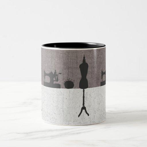 Fashion Women's Clothing Designer Mannequin Mugs