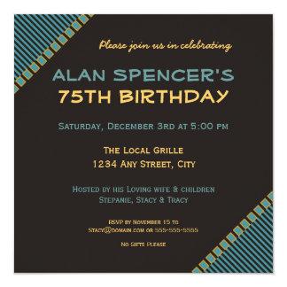 Fashionable Birthday Invitation