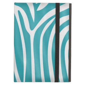 Fashionable elegant girly zebra pattern iPad air cases