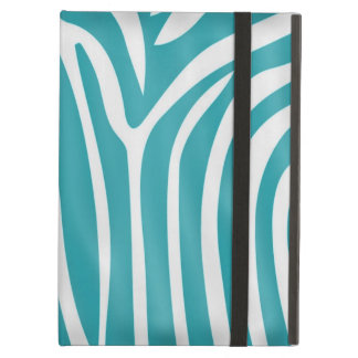 Fashionable elegant girly zebra pattern iPad air cover