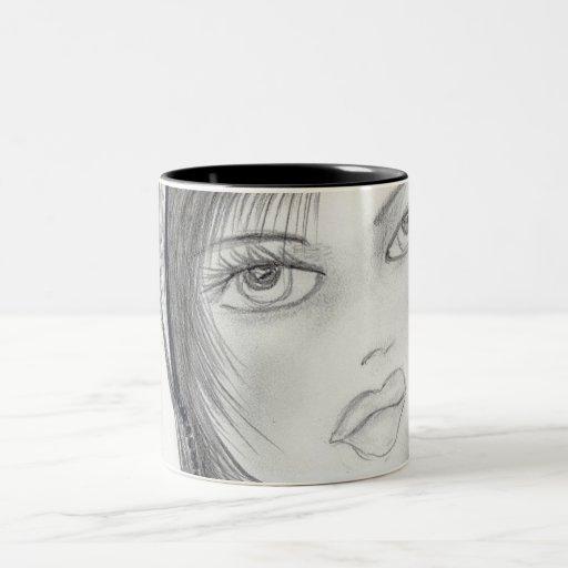 Fashionable Flapper Coffee Mug