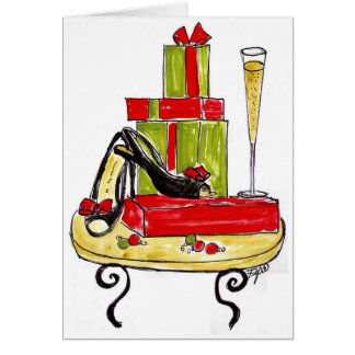 Fashionable Holiday Packages Card