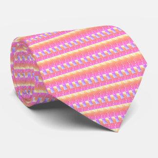 Fashionable Hot Pink tie - elegant, bright, line