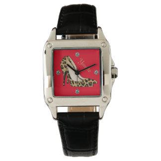 Fashionable Jaguar Stiletto Custom Watch