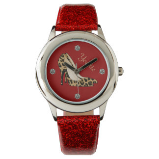 Fashionable Jaguar Stiletto Custom Watch